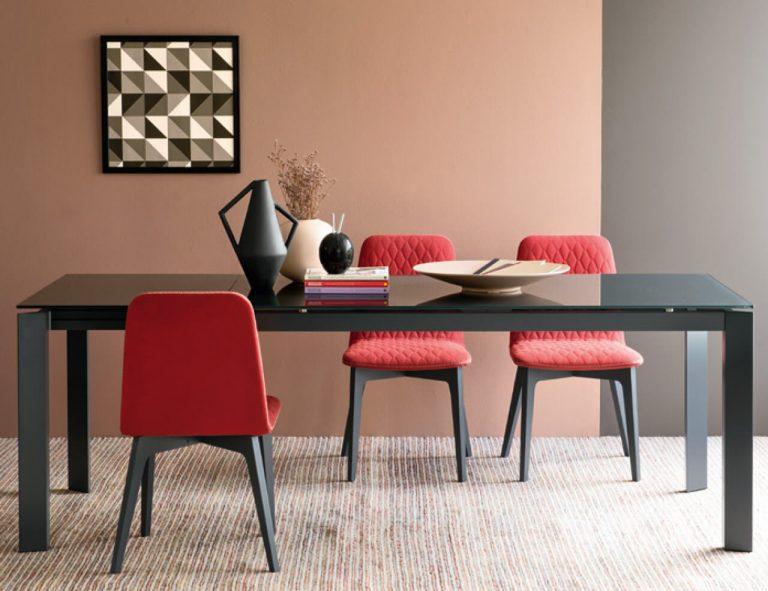 Jedálenský stôl Baroco Glass