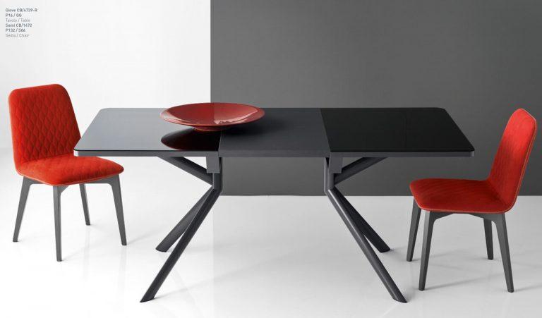 Jedálenský stôl Giove Glass