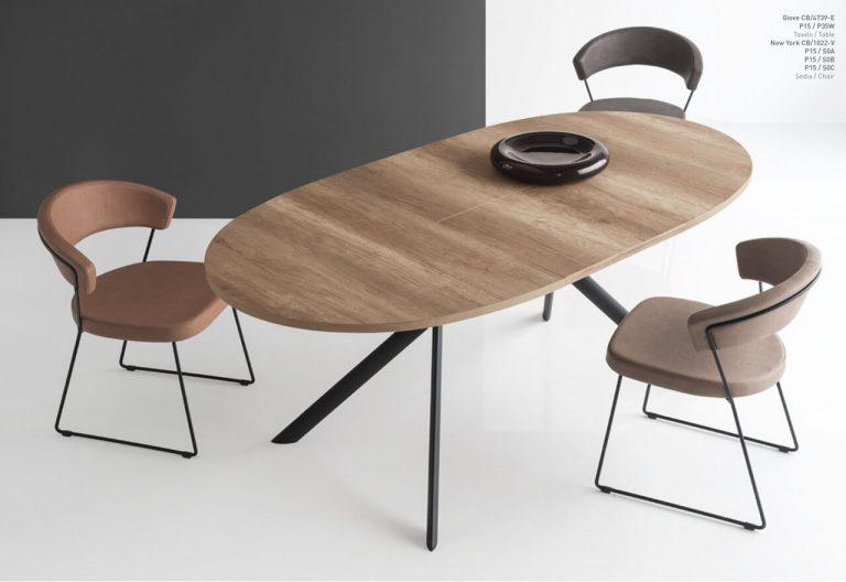 Jedálenský stôl Giove Wood