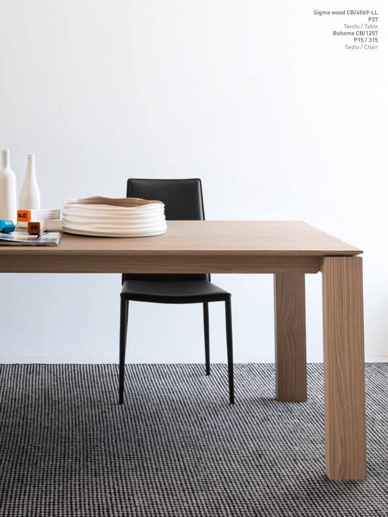 Jedálenský stôl Sigma Wood