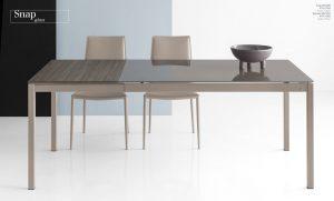 Jedálenský stôl Snap Glass