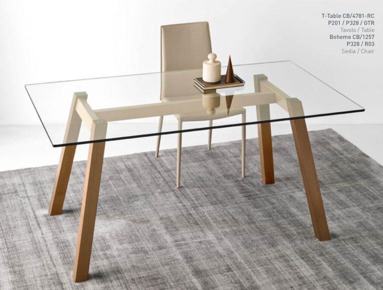 Jedálenský stôl T-table