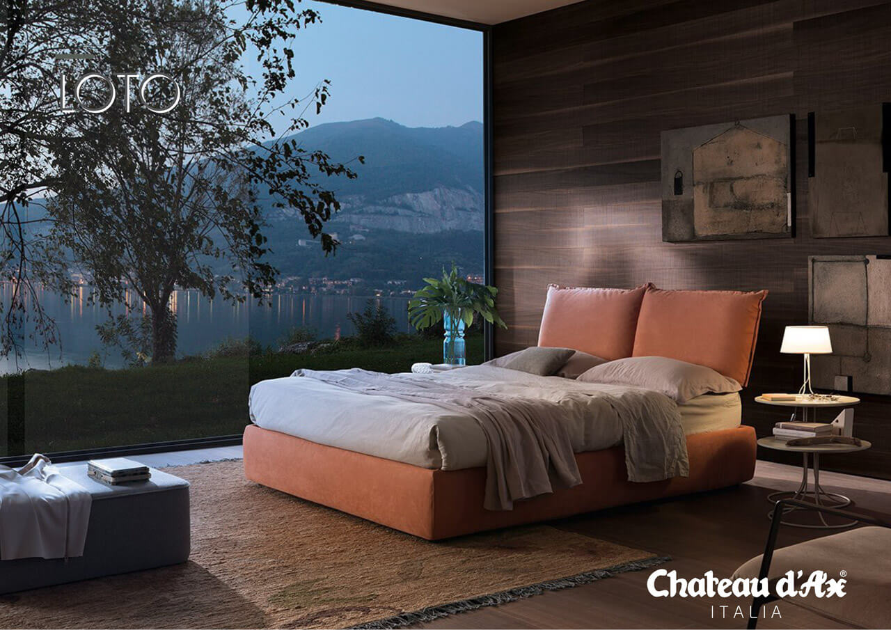 Talianska posteľ Loto