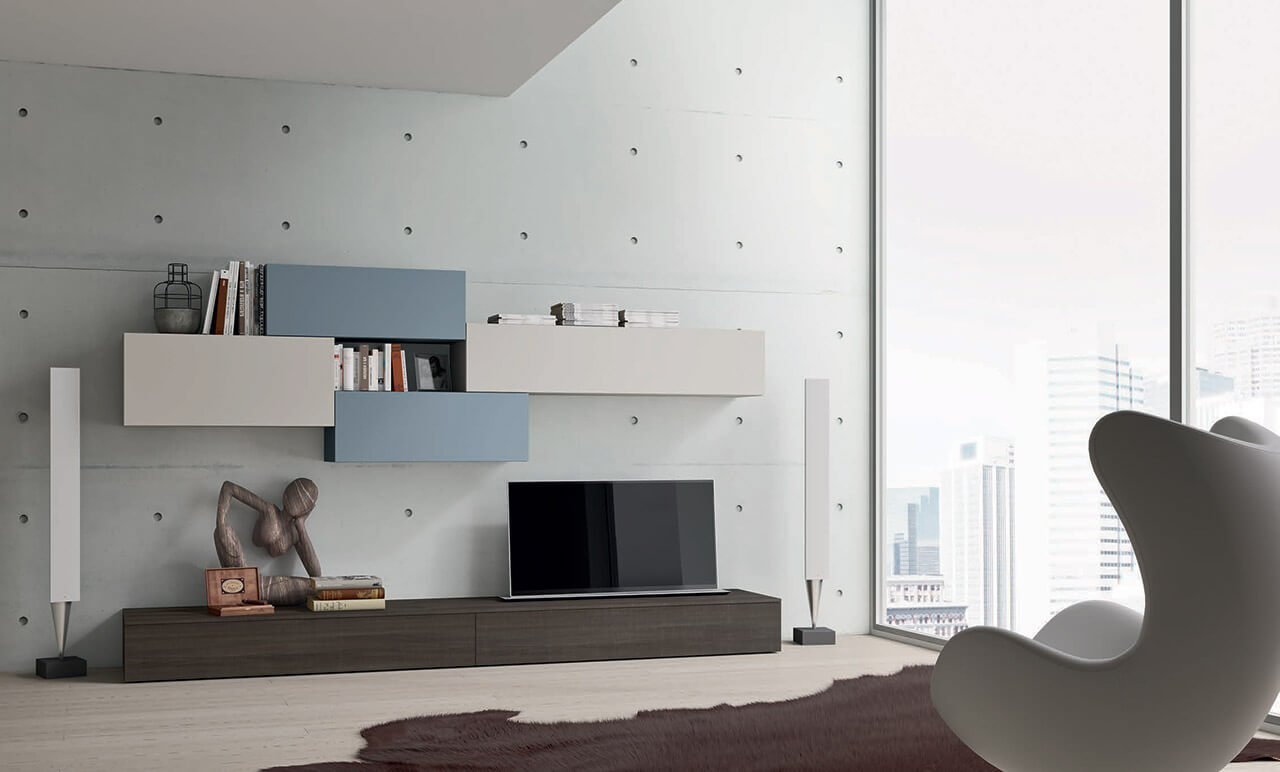 Obývacia stena 124