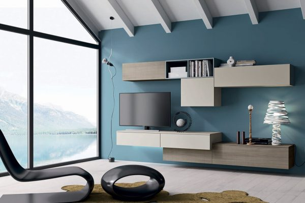 obývacia stena 133