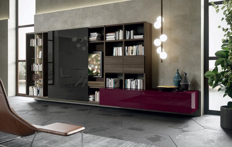 obývacia stena 318