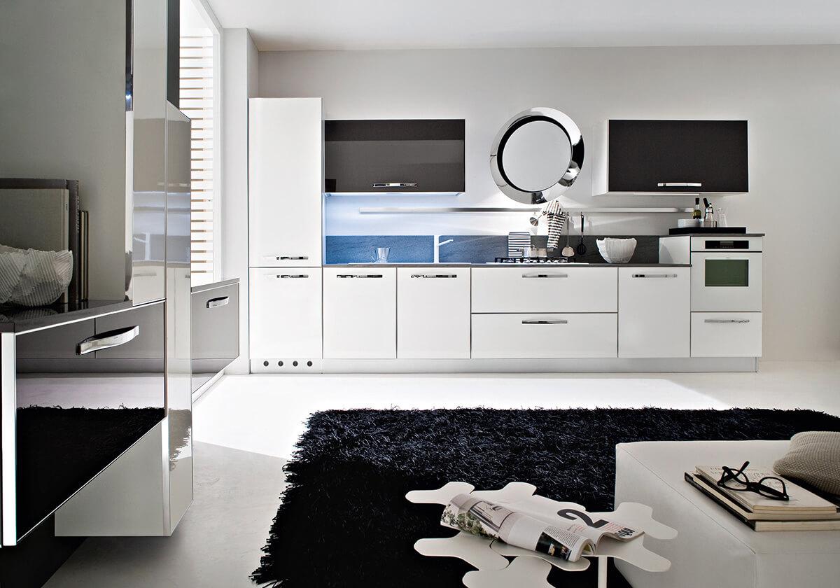 Kuchyňa Progetto Sistema Telaio Alluminio